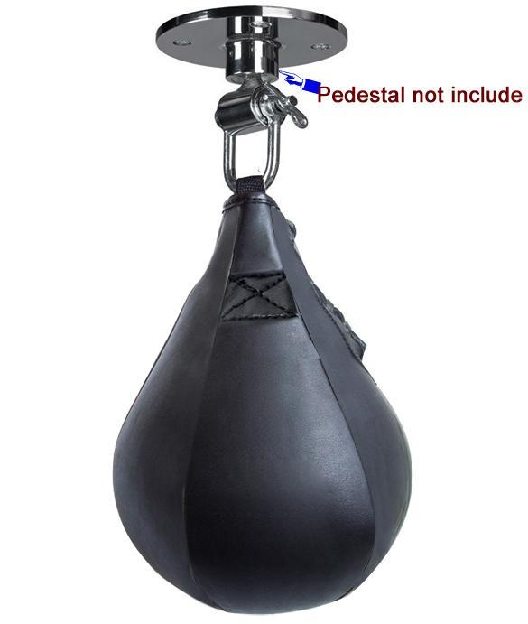 Punching Bag Double End Muay Thai Boxing Punching Bag Speed Ball Pear Punch Training Fitness saco de da boxeo (With hanging)