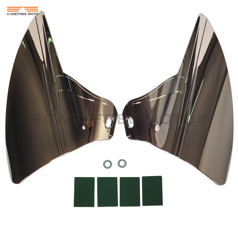 Motorcycle Saddle Shield Heat Deflector Case for Harley Touring Road Electra Glide 2009 2015