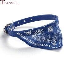 Transer дешевый жаккардовый шарф с принтом щенка из искусственной кожи бандана ошейники для маленьких собак 800710