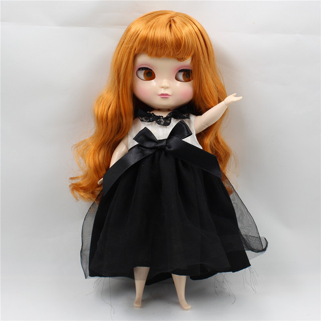 Tijelo ICY Neo Blythe Orange Orange Hair Plump