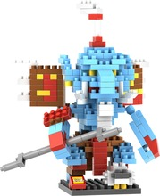LOZ 9496 Orc Zur Kos Shadow Hunter Educational Kids Diamond Brick Building Block Best Toys Compatible with Legoe