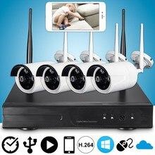 Safurance 720 P P2P WIFI CCTV HD Wireless High-Definition Überwachungskamera Recorder Ip-kamera CCTV-System Nachtsicht