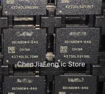 1PCS~5PCS/LOT  SDIN9DW4-64G  64GB  EMMC  BGA  New Original
