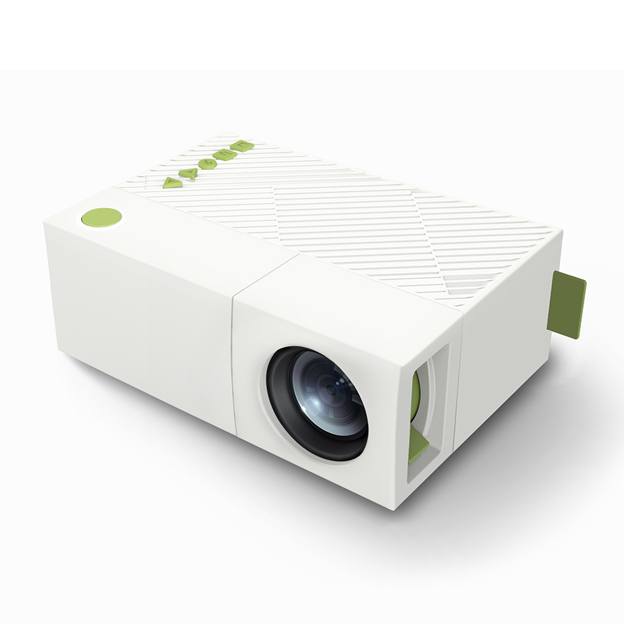 Portable mini yg310 led projector multi media 1080p for Best pocket projector review