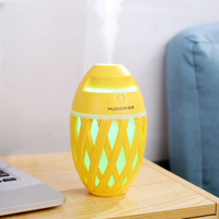 320ml USB Diffuser Aroma Essential Oil Humidifier Ultrasonic diffuser 7 Color Change LED Night light Cool Mist for home
