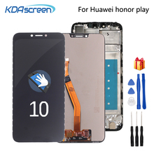 Original For Huawei Honor Play COR-L29 LCD Display Touch Screen Digitizer Assembly For Huawei honor play LCD Screen LCD Display original a1534 lcd screen display assembly for macbook 12 a1534 2015 2016 a1534 lcd screen display assembly gray color