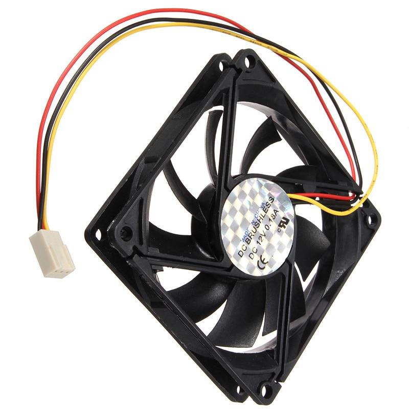 12V 1800rpm 3 Pin PC CPU Cooling Fan Heatsinks CPU Radiator Computer Case Fan For Desktop 80mmx80mmx15mm