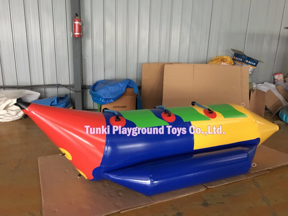 3 Seats Inflatable banana boat inflatable boat for sale inflatable water games