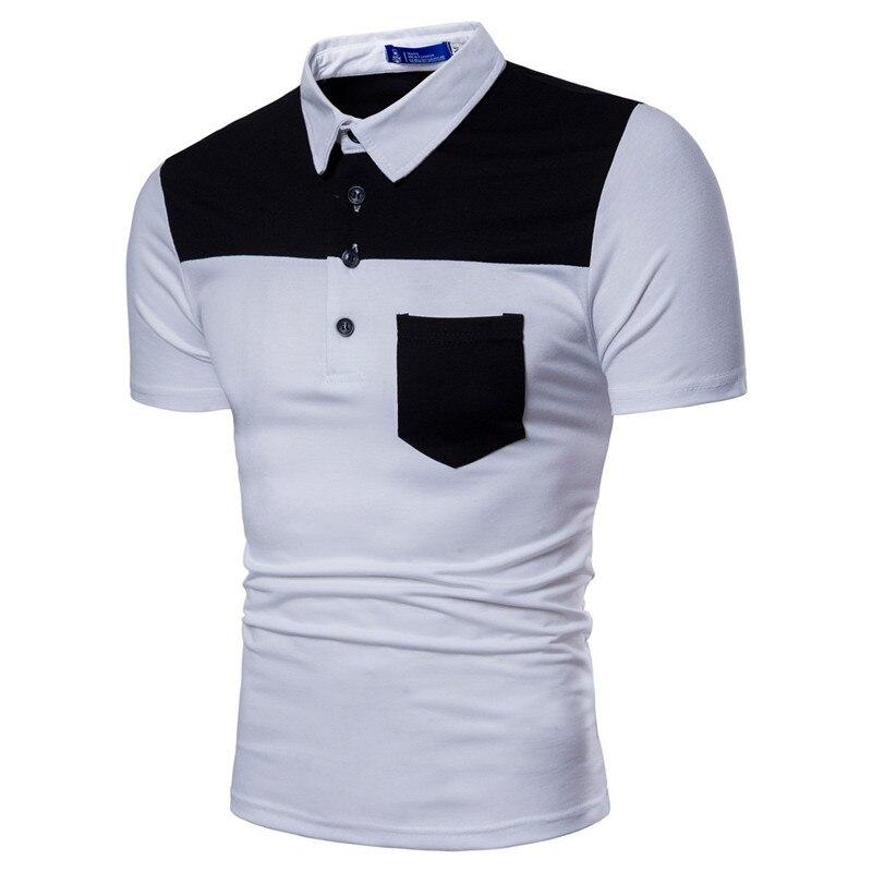 2019 baumwolle Plus Größe M-3XL Marke Neue männer Polo-Shirt Hohe Qualität Männer Baumwolle Kurzarm shirt Marken Sommer herren polo Shirts