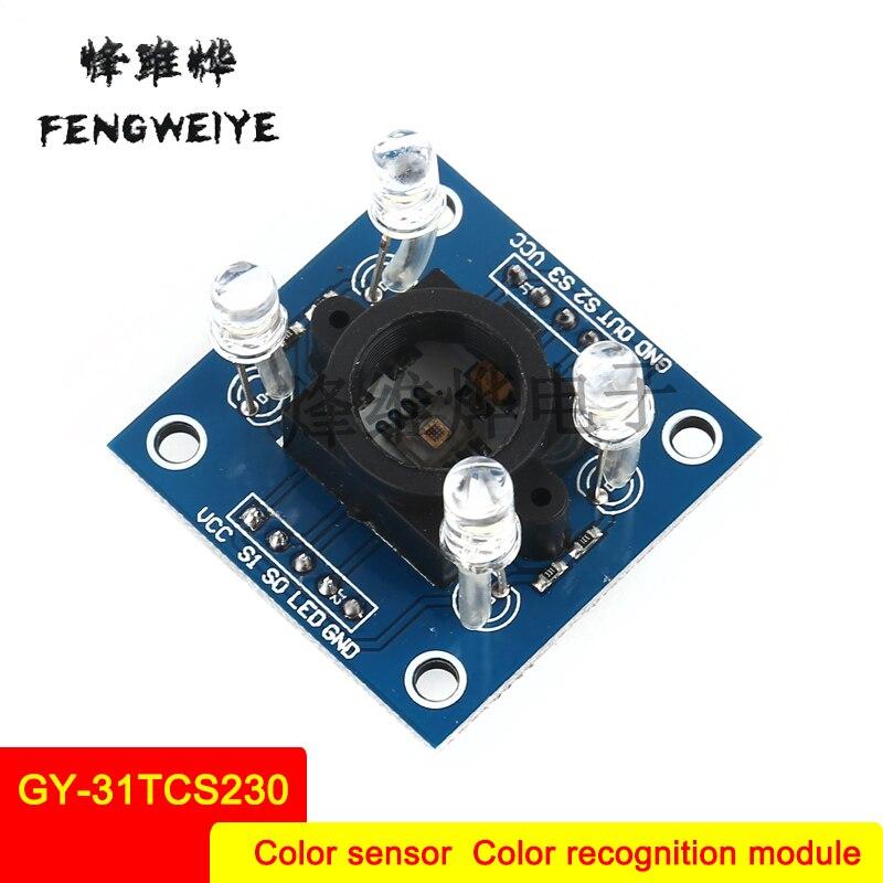 Panel GY 31TCS230 TCS3200 Color Sensor Color Identification Module Color Sensing Module