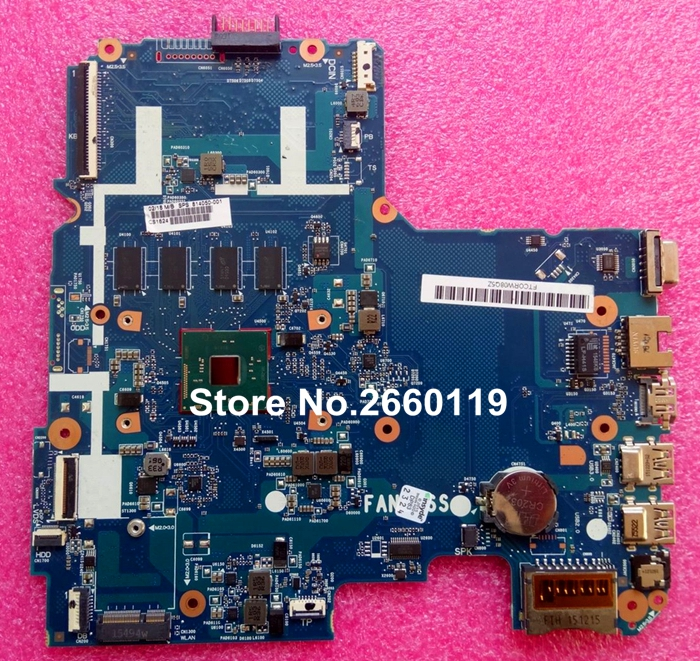 все цены на laptop motherboard for HP 14-AC 814050-001 6050A2730201-MB-A01 system mainboard, fully tested онлайн