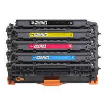 4X 410A 410X CF410A CF410X Toner Cartridge Compatible for HP Color MFP M377dw M477fdn M477fdw M477fnw Printer