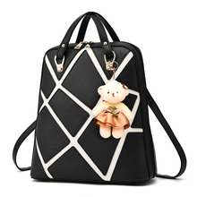 Модные летние женские маленький рюкзак для девочек PU кожаные рюкзаки для школы женские школьный; Mochilas Femininas