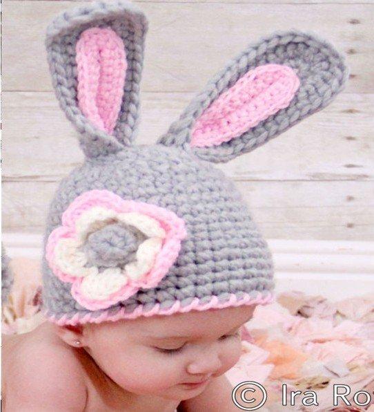 NEW Handmade woven hat / Infant Babyrabbit Knit /Style Cap/newborn ...