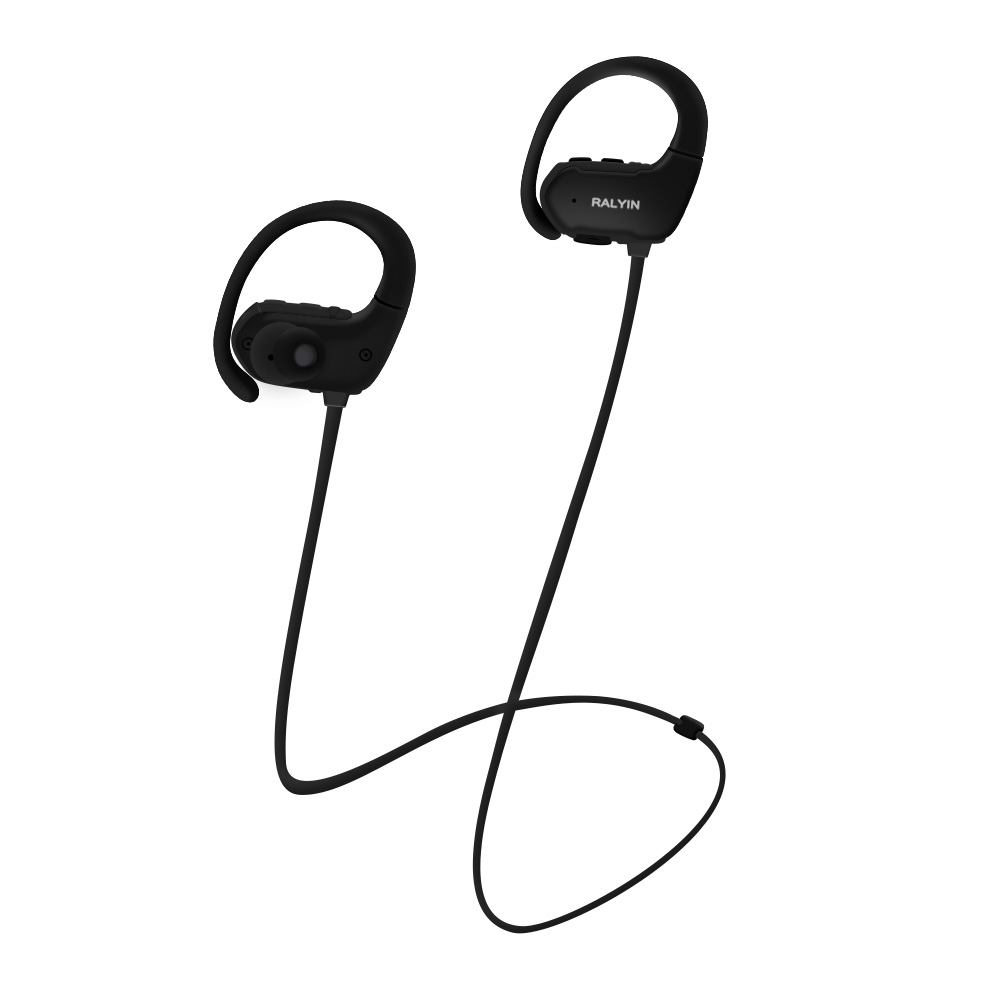 ADAX Mp3 Digital Music Player Built-in 8GB SD Memory Wireless Earphones Bluetooth Headset Sport Earbuds with Mic