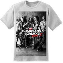 Marvel Guardians Of The Galaxy 2 Nachfolger Star Lord Ramones Style Filmposter Tee Shirt For Men O-Neck Tops Male