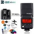 Godox TT350F Flash Speedlite TTL HSS GN36 High Speed 1/8000 S 2 4G Wireless X System + X1T-F trigger Sender für Fuji