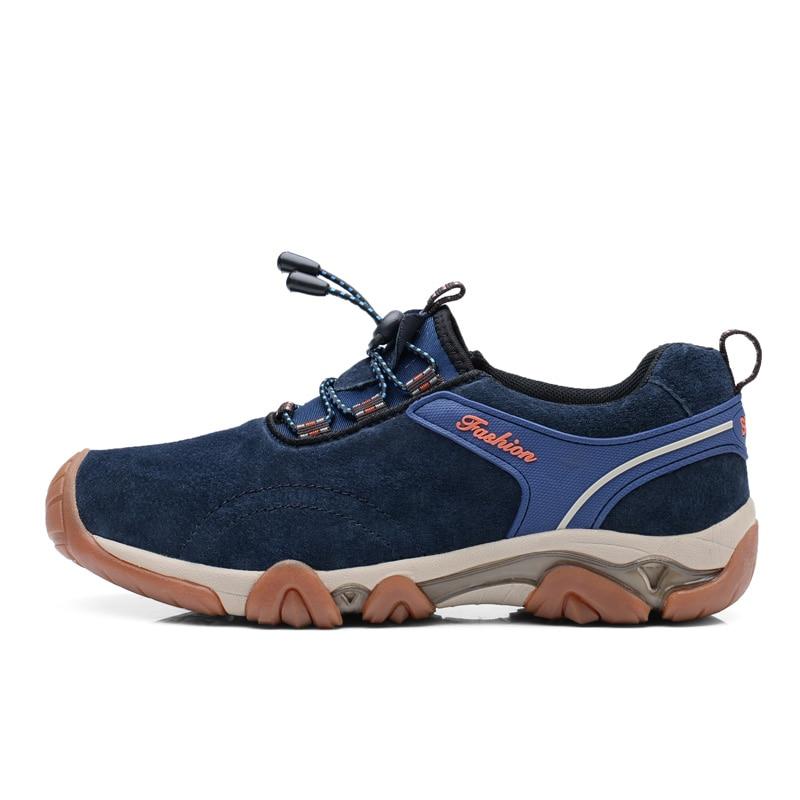 2016 Men font b Hiking b font Shoes Red Trekking font b Boots b font Winter