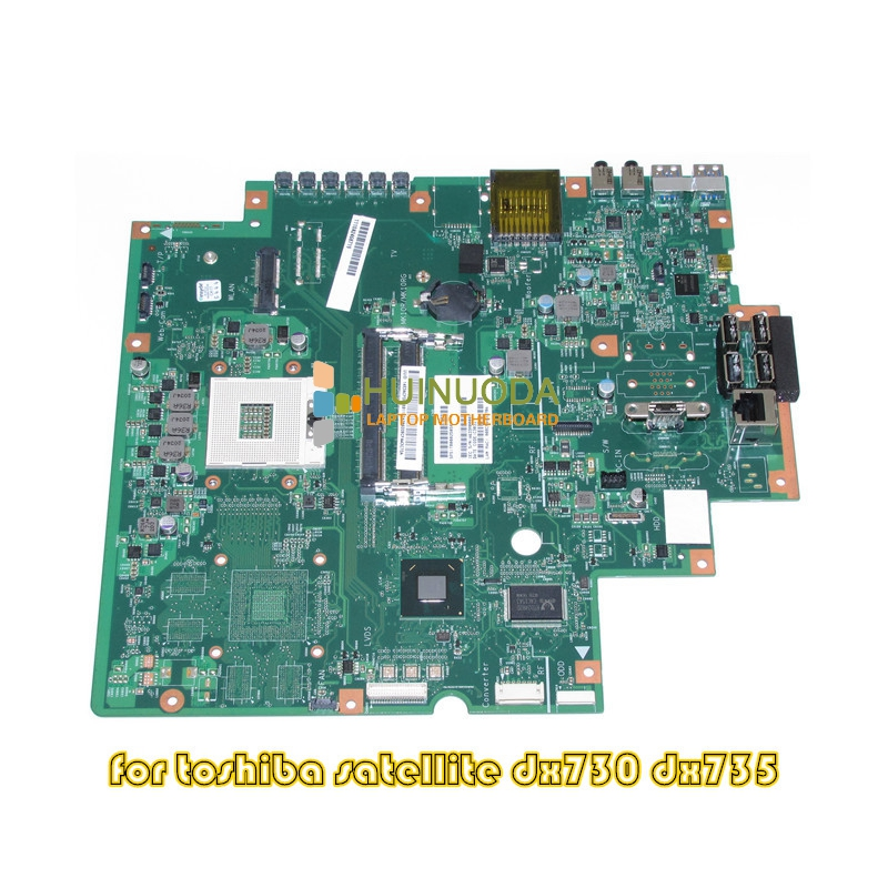 NOKOTION T000025050 Main Board For Toshiba Satellite DX730 DX735 Laptop Motherboard HM65 GAM HD DDR3 nokotion a000175380 laptop motherboard for toshiba satellite c840 l840 main board ati hd7670m graphics ddr3 daby3cmb8e0