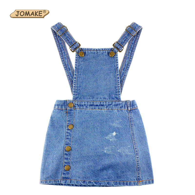 2017 Spring Summer Dress Girl Kids Baby Sleeveless Strap Denim Sundresses for Girls Kids Dresses New Fashion Cowboy Baby Clothes 2017 new spring female flat heels martin shoes bullock shoes female thick bottom loafers large size women shoes obuv ayakkab