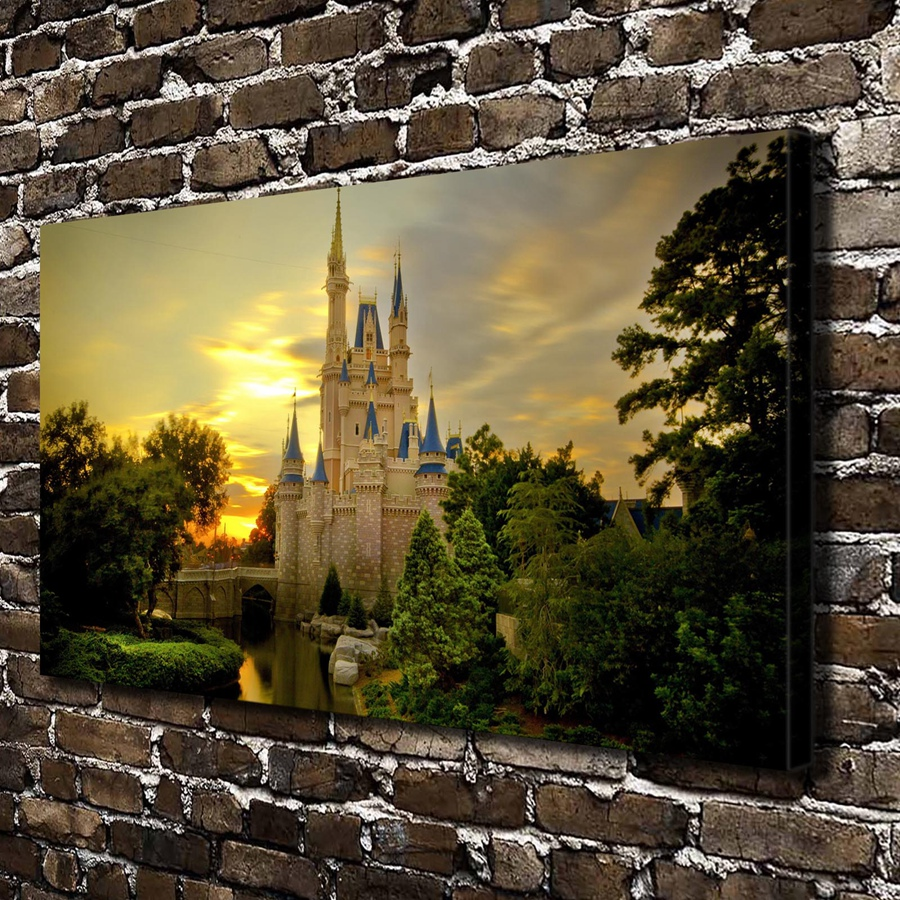 online buy wholesale cinderella castle pictures from china