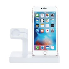 2 in 1 Charger Stand For Apple Watch 4 44mm 40mm iwatch 3 2