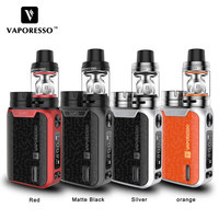 Original Vaporesso SWAG Kit 80W SWAG Box Mod with NRG SE Tank (3.5ml)/Mini (2ml) Tank E Cigarettes Vape Kit No 18650 Battery