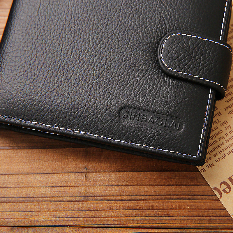 jinbaolai marca homens carteira de Estilo : Sports For Genuine Leather Wallet