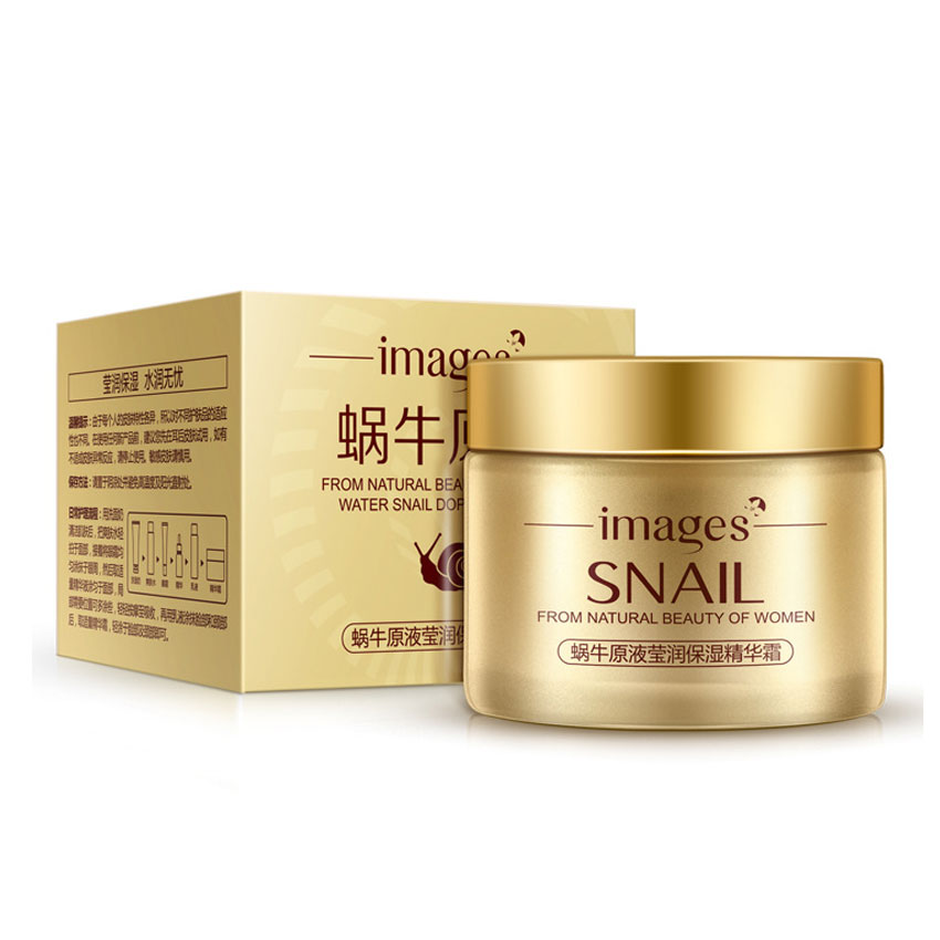 Bioaqua 24K Gold Snail Facial Creams 50G Whitening Anti-Wrinkle Cream Anti-Aging Face Cream Hydrating And Moisturizing Mk0210