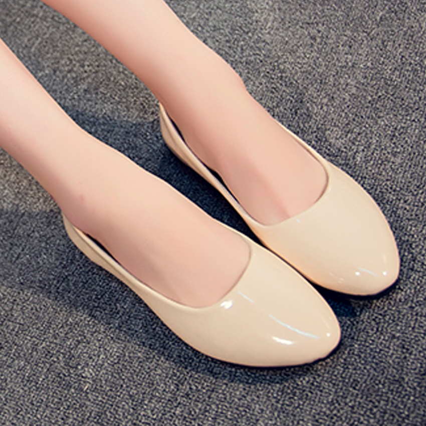 ultra light ladies flats pu leather shoes women brand girls dress shoes shallow plain slip on flat shoes for women sapatos 955k women fashion bow pointed toe slip on girls flats ladies casual breathable ballerinas shallow flats women flat students shoes
