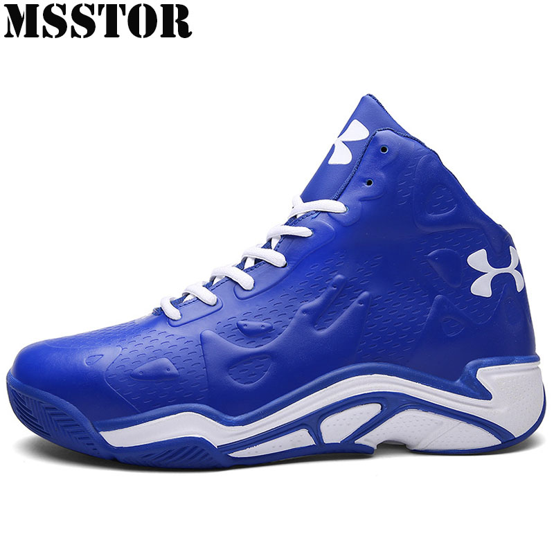 MSSTOR 2018 Women&Men Basketball Shoes Brand Outdoor Jogging Sports Training Boots Sport Shoes Summer Breathable Womens Sneakers peak sport speed eagle v women men basketball shoes cushion 3 revolve tech sneakers breathable athletic training boots eur 40 50