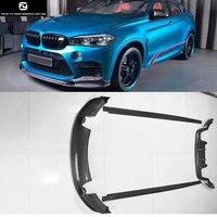 F15 X5 F16 X6 X6M 3D стиль карбоновое волокно передний бампер для губ задний бампер диффузор боковые юбки для BMW F16 X6 X6M 3D дизайн 2014UP