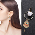 three Type Ethnic Type Embroidery Material Ball Stud Earrings Sample Design Earings For Ladies Couple Present 2018 New Jewellery Oorbellen HTB1vb79cmCWBuNjy0Fhq6z6EVXaY