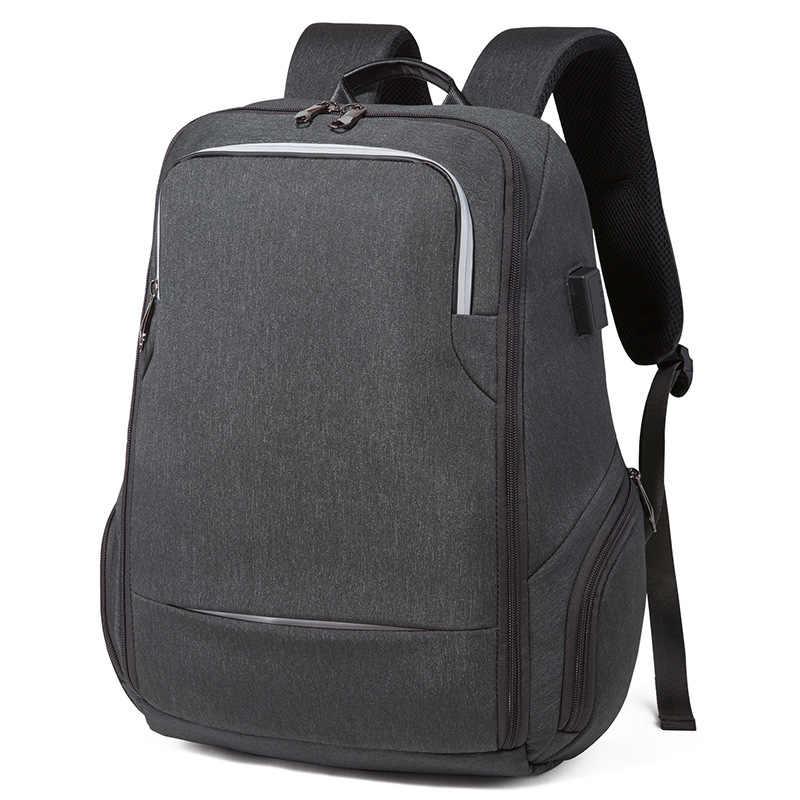Анти вор USB Рюкзак 15,6 дюймов ноутбук рюкзак для wo мужчин мужской школьный рюкзак сумка для подростков мальчиков мужской путешествия Mochila водонепроницаемый