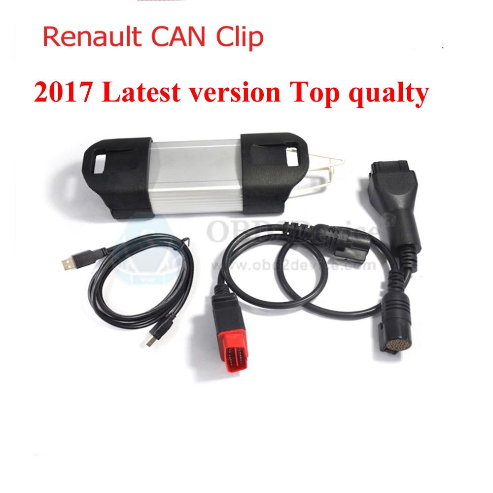 Цена за 2017 Топ V160 Может Закрепить За Renault диагностики Renault МОЖЕТ Закрепить инструмент multi-языки Быстрый Бесплатный Экспресс