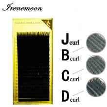1pcs Eyelash Extension False Eyelash B/C/D/J Curl Mix Length 7-15mm Individual Synthetic False Lash Grafting Eyelash Makeup Tool