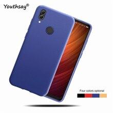 For Xiaomi Redmi Note 7 Cover Case Matte TPU Soft Coque Funda Back Phone