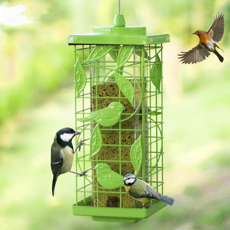 Mangeoire pour oiseaux en plein air alimentation automatique auge alimentation auge fournitures birding ZP12191437