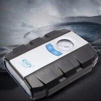 سيارة الاطارات نافخة لل سيارة جذع سيارة مراقبة ضغط الإطارات مضخة الهواء الكهربائية نفخ إبرة مع الصمام ضوء الطوارئ 12 فولت