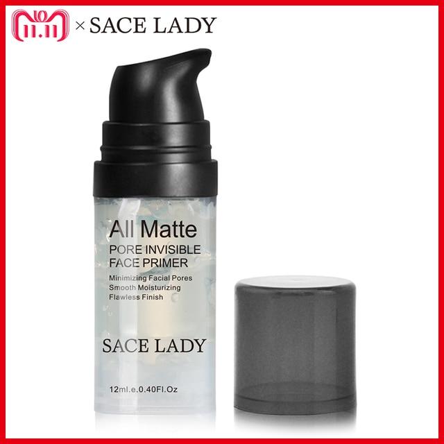 SACE LADY Face Primer Base Makeup Natural Matte Make Up Foundation Primer Pores Invisible Prolong Facial Oil-control Cosmetic
