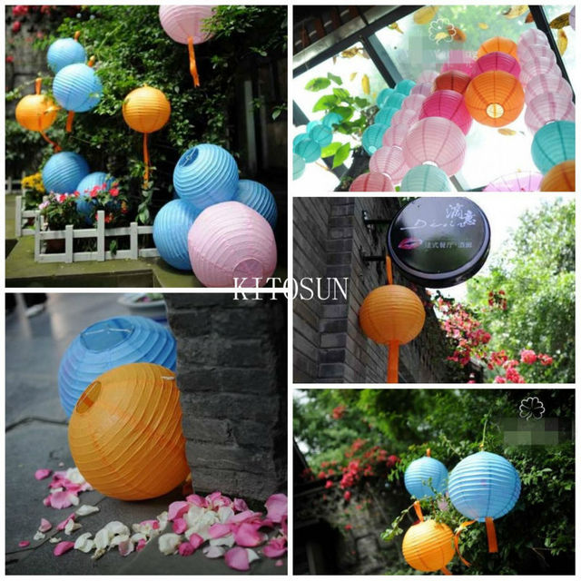 1000pcs Wedding Favors Haning LED floralyte Paper lantern lights glow props for wedding party decorations 1