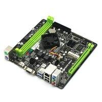 Quad Core Prodotti ITX Scheda Madre Costruito in A6 5200 CPU HD8400 Gioco Scheda Grafica Supporto HDMI SSD WIFI HDD DDR3 1080 P
