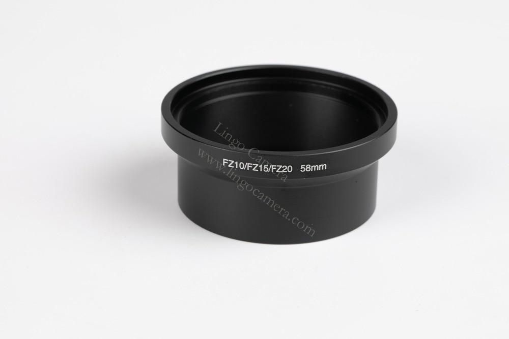 FZ15 FZ20/62/mm Filter Adapter Tube for Panasonic LUMIX DMC FZ10