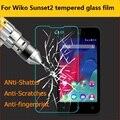 Venta caliente de cristal templado de cine para wiko atardecer 2 anti-shatter protector de películas protectoras de pantalla frontal para wiko sunset2 lcd películas