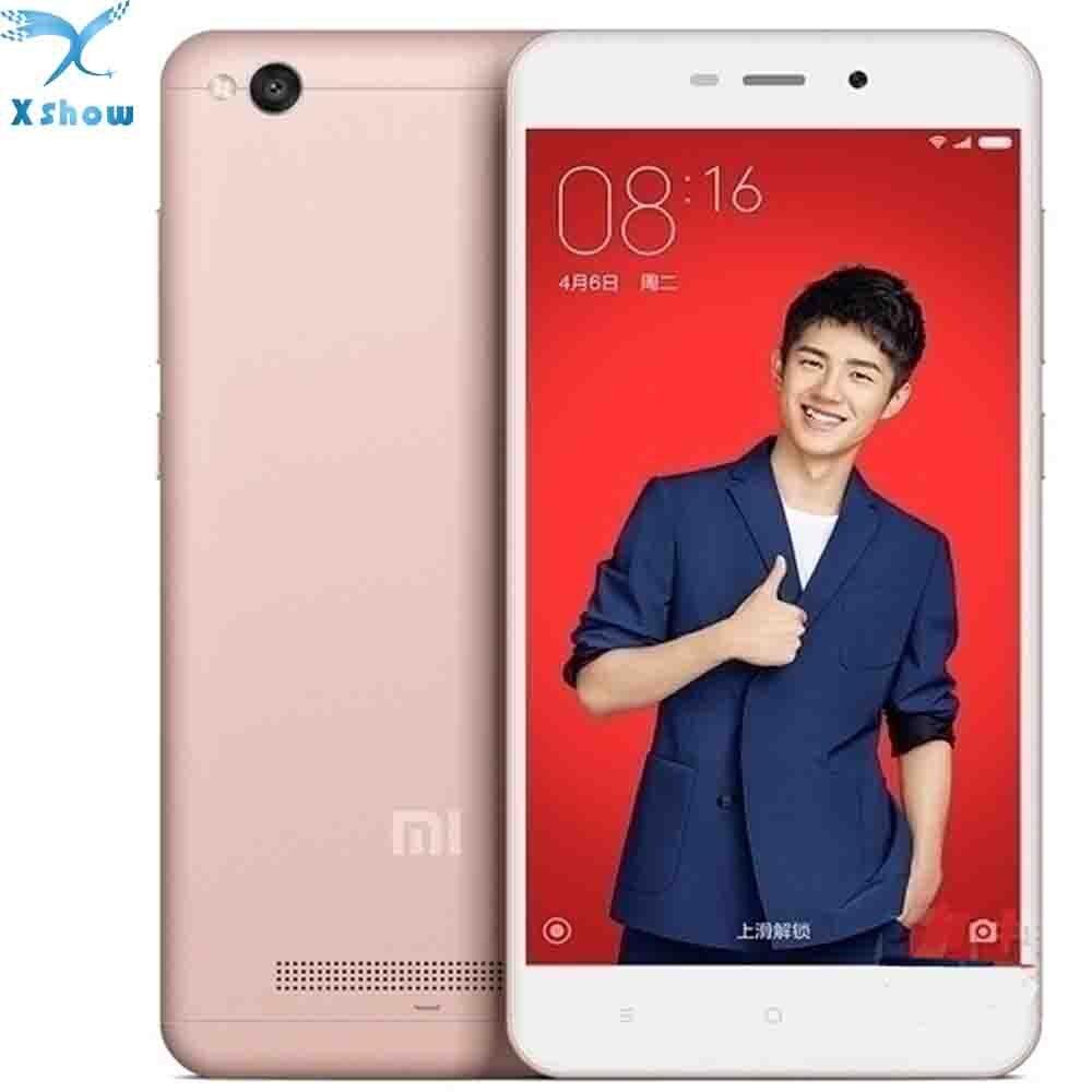 """Цена за Xiaomi redmi 4a 2 ГБ ram 16 г rom snapdragon 425 quad core 5 """"720 P 5 + 13 mp камеры мобильного телефона оригинальный новый"""
