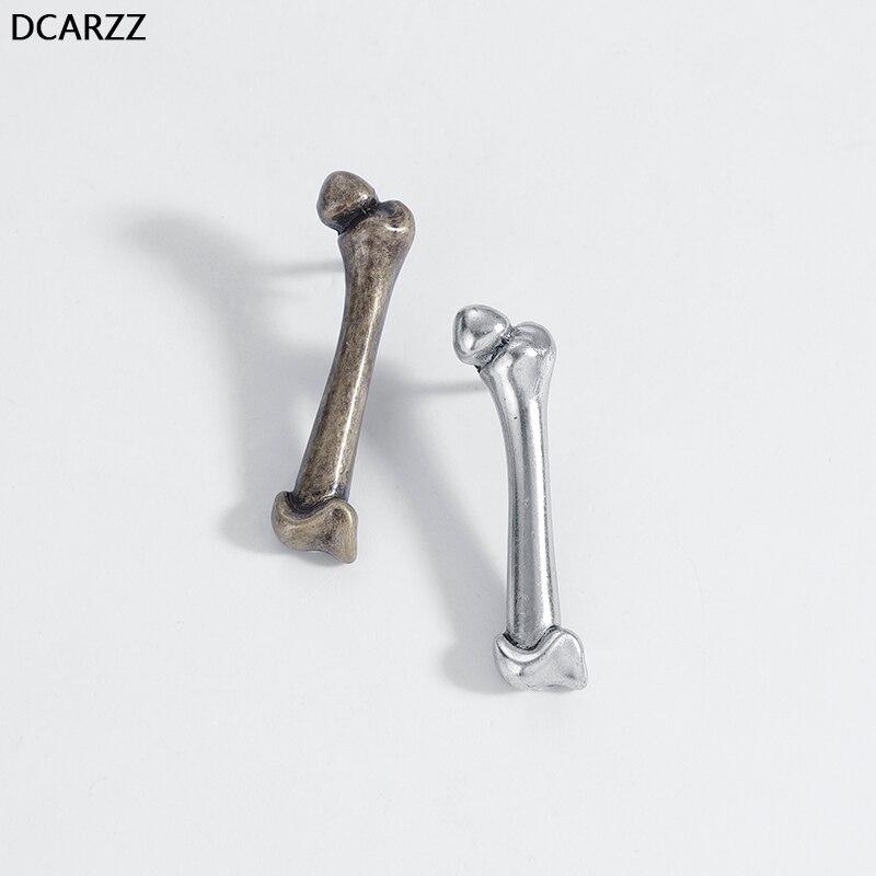 Prata Esterlina Anel osso anatômicas do fémur Médico Enfermeiro Joias Steampunk