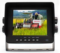 5 Inch Car Rear View Monitor with 2 cameras video input 12 32V waterproof free shipping