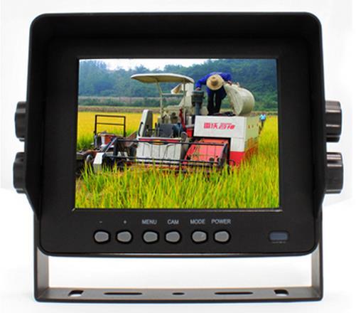 Moniteur de vue arrière de voiture de 5 pouces avec 2 caméras entrée vidéo 12-32 V étanche livraison gratuite