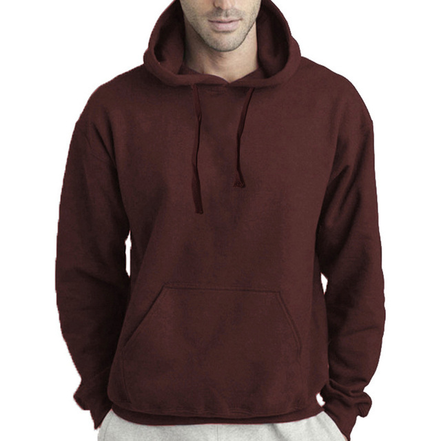 Autumn and Winter Men's Hoodies Sweatshirts Pullover for Male  4