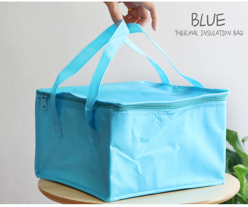 38x38x25cm Food, fruits, drink thermal insulation bag, cold keeping, fresh packet, travel, picnic, outdoor insulation box multifunction outdoor picnic warm fresh cold food keeping storage handbag blue